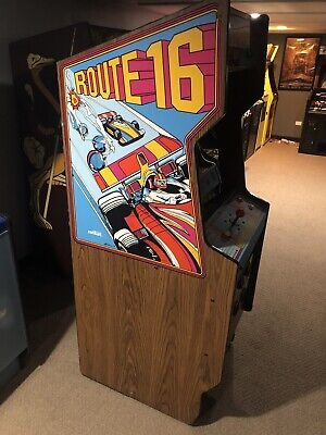 Centuri Route 16 Coin Operated Arcade video Game Very Good condition