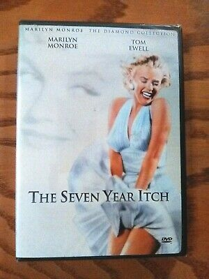 The Seven Year Itch (DVD, 2001, Marilyn Monroe Diamond Collection) NEW! 1955