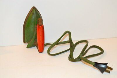 Vintage Child's Green/Red Sunny Suzy Iron - Wolverine Supply & MFG. Co.-Works