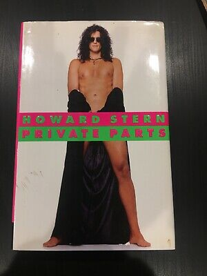 Private Parts by Howard Stern (1993, Hardcover) With Dust Jacket Very Good Cond.