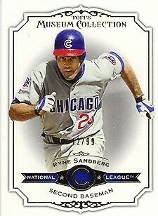 2012 Topps Museum Collection Blue #19 Ryne Sandberg Serial #67/99 - Chicago Cubs