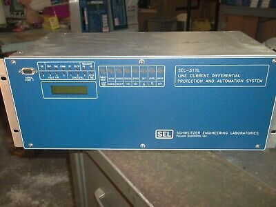 Schweitzer Sel-311L Line Current Differential Protection Automation System (K1)