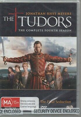 THE TUDORS Complete Fourth Season BRAND NEW SEALED DVD MA15+ 3 discs Region 4