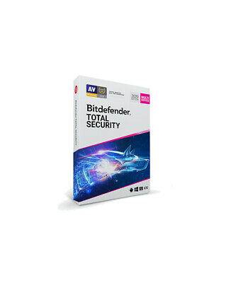 Bitdefender Total Security 2019 - 1-PC / 1-Year - CD