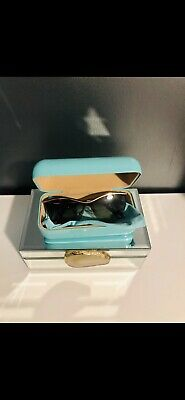 2181c93e71c7 NWT TIFFANY&CO Butterfly Sunglasses TF3058 60213B Pale Gold/Brown Gradient  35mm