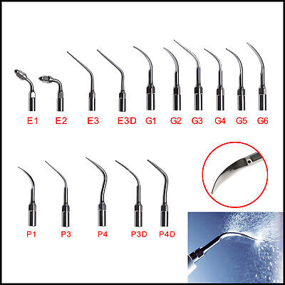 10pc Dental Ultrasonic Scaler Tip Fit EMS WOODECK Diamond coated Warranty