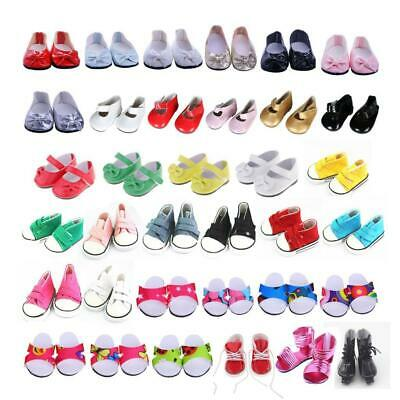 Fashion Doll Shoes Clothes for 18'' American Doll Doll  Dress Accs