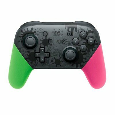 Wireless Bluetooth Pro Controller Gamepad Splatoon for Nintendo Switch
