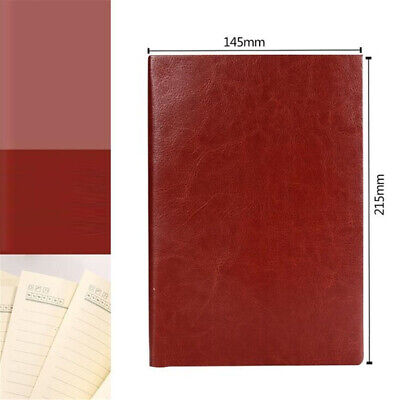 Random Soft Cover PU Leather Notebook Writing Journal 100 Page Line Diary Book