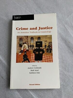 Crime and justice textbook in criminology Australian Kathleen daly Mark Israel