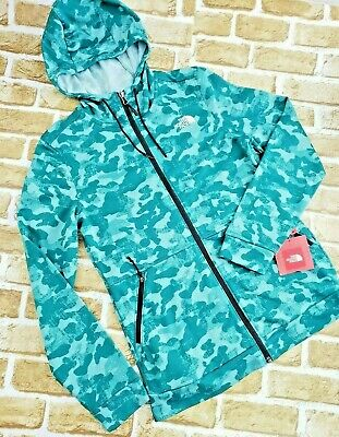 NWT Womens The North Face TNF 100 Cinder Hoodie Fleece Jacket - Jasper