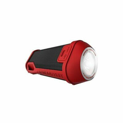 Monster  Firecracker High Definition Bluetooth Speaker - Red