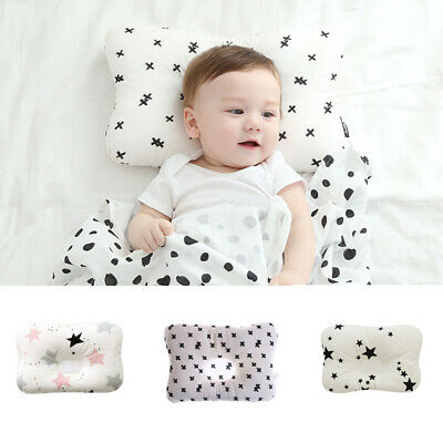 Baby Infant Pillow Newborn Anti Flat Head Syndrome for Crib Bed Neck-Support NE8