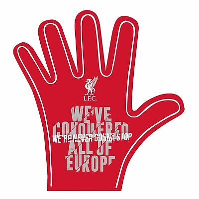 Liverpool FC Red Football We are Never Gonna Stop Foam Hand LFC Official