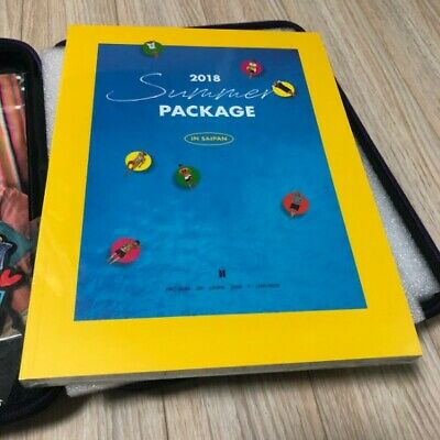 BTS 2018 Summer Package Black Box J Hope Guide Book Without Outer Box KPOP