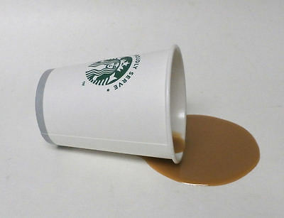 Fake Food Diner Spilled Starbucks Coffee To Go