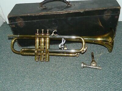 Boosey & Hawkes Imperial Bb Trumpet LP FVA With Flying Stave Logo Vintage