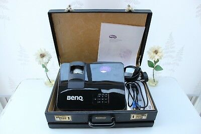 Benq MS513 Digital Projector + Carrying Case, User Manual, Home or Office use.
