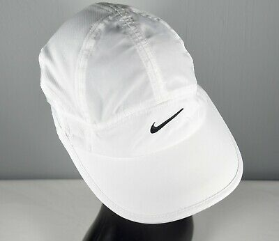 f081a6fd797a4f Nike Featherlight 2.0 Women's Adjustable Dri-Fit Running Cap in  White/Anthracite
