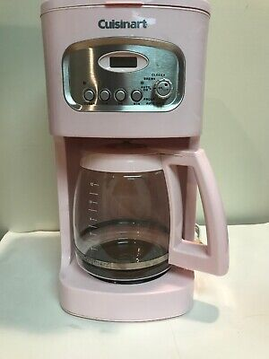 PINK Cuisinart(Kitchen Aid Breast Cancer)12-Cup Coffee Maker/Brewer Pot! GREAT!