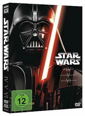 Star Wars Trilogie - Episode IV-VI (4+5+6)  3-DVD-BOX NEU OVP