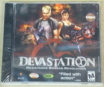Video Game PC Devastation Resistance Breeds Revolution NEW SEALED Jewel