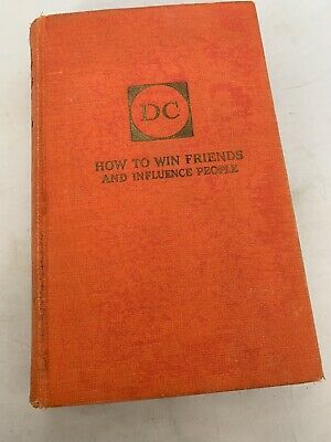 Signed 1937 Printing How to Win Friends and Influence People Dale Carnegie