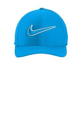 f596b952c9adf0 NIKE 868378 2018 SWOOSH ON FRONT CLASSIC 99 DRI-FIT FITTED GOLF CAP Many  Colors