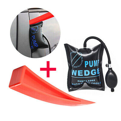 Car Door Window Open Air Bag Pump Easy Wedge Pad Entry Inflatable Shim Tools