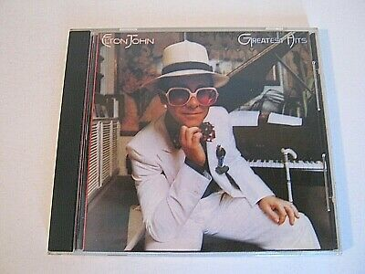 Elton John Greatest Hits CD MCAD-37215 Rocket Man Daniel Your Song Crocodile Roc