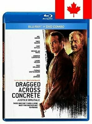 Dragged Across Concrete  [DVD + Bluray] [Blu-ray] (Bilingual)