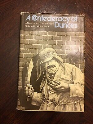 A Confederacy Of Dunces By John Kennedy Toole 6th Printing First Edition 1981