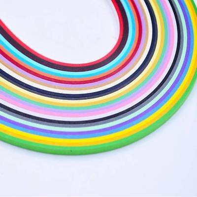 260 Strips Quilling Paper craft Colorful Mixed Origami Paper Craft Art Tool SALE
