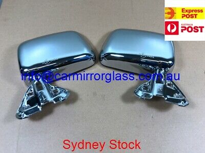 1 PAIR FRONT Manual Door Side Mirror For Toyota Hilux LN106