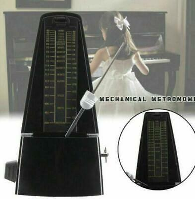 Precise Mechanical Metronome Wood Vintage Style Music Timer For Guitars
