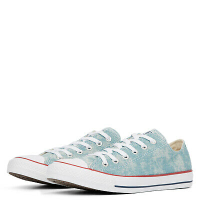 Converse Chuck All Star Classic Ox flach 37-45 denim white Turnschuhe Chucks