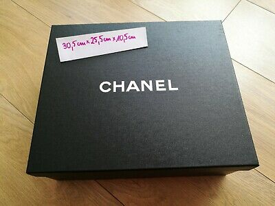 Chanel empty box black