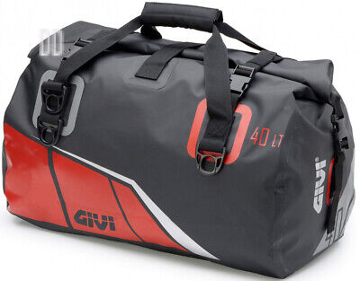 Givi ea115br Bag watertight seat 40lt black/red