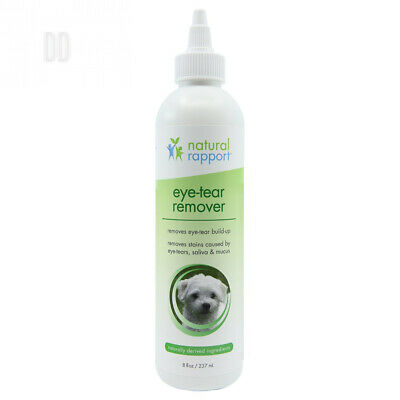 Natural Rapport Eye Tear Stain Remover for Cats & Dogs - Pet Stain...