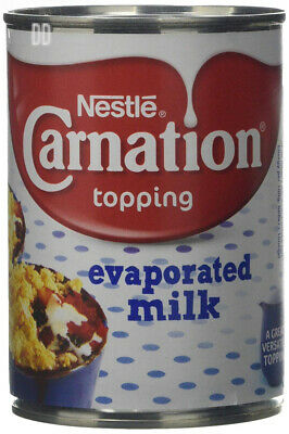 Nestlé Carnation Evaporated Milk, 410 g (Pack of 12)