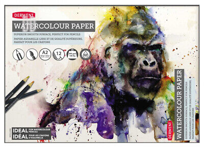Daler Rowney Simply Artists Watercolour Painting Paper Pads 190gsm A4 PACK OF 2