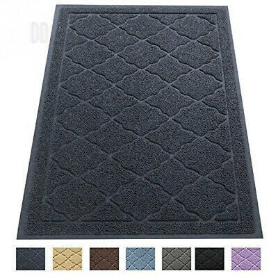Easyology Premium Cat Litter Mat - XL Super Size (60 x 90 cm) - Best Gray