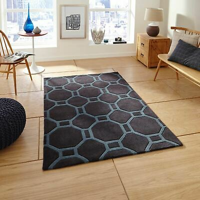 Small Extra Large Colourfast Soft Deep Acrylic Pile Mats Modern Hong Kong Rugs