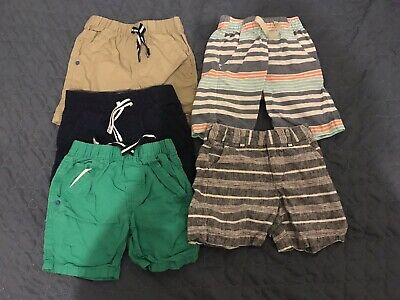 73b17506a 5 Pairs Toddler Boys Shorts Size 3T TOUGHSKINS, Baby Gap Nautica Mint  Condition!