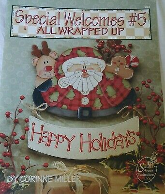 Decorative Painting Pattern Book SPECIAL WELCOMES #5 ALL WRAPPED UP Christmas