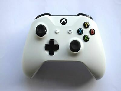 Official Genuine Microsoft Xbox One S Wireless White Controller Pad 3mm Jack