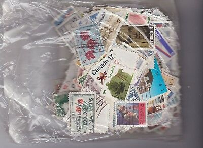 1000 Used Canada Commemoratives Mixture  Old and New  Mostly large