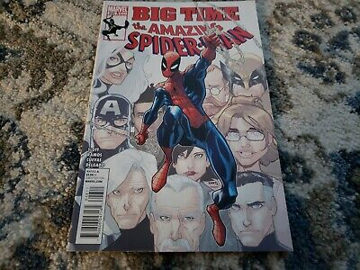 Amazing Spider-Man # 648 2011 Vf+/Nm-.1St App Of Stealth Suit Spider-Verse Movie