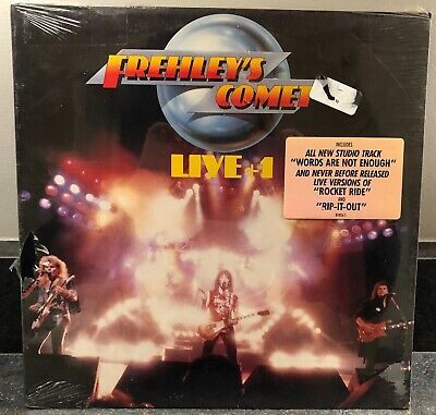 Frehley's Coment (Ace Frehley, Kiss):Live+1 LP Vinyl Record Original SEALED Hype