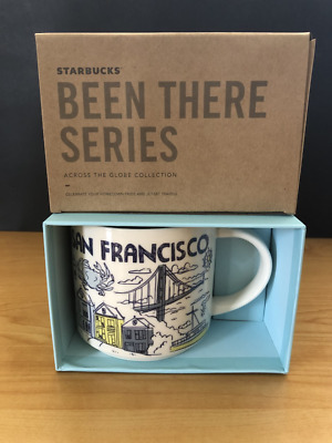 New Starbucks Limited Edition San Francisco Been There Series Mug Holiday 2018